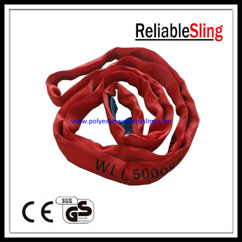 Booster Cable Duplex Webbing Sling , Web Slings For Lifting GS